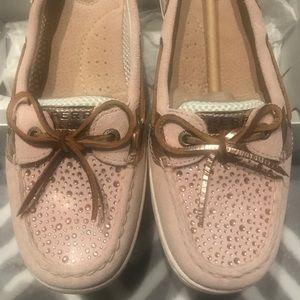 Sperry Top-Siders Angelfish Rhinestone Boat Shoes